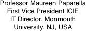 Professor Maureen Paparella